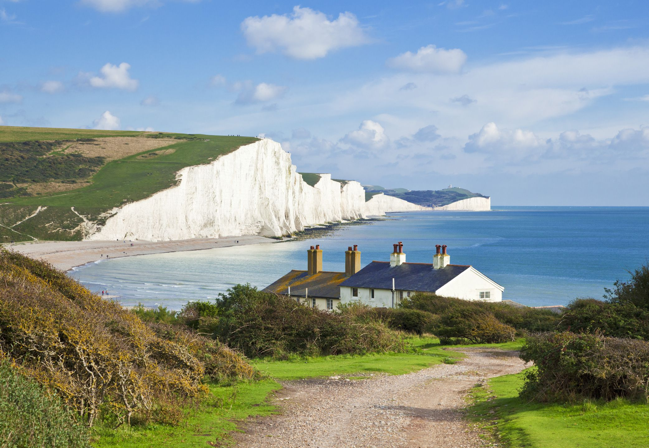 Seven Sister White Cliffs In England Best Views - 7 things to see in and around dover england