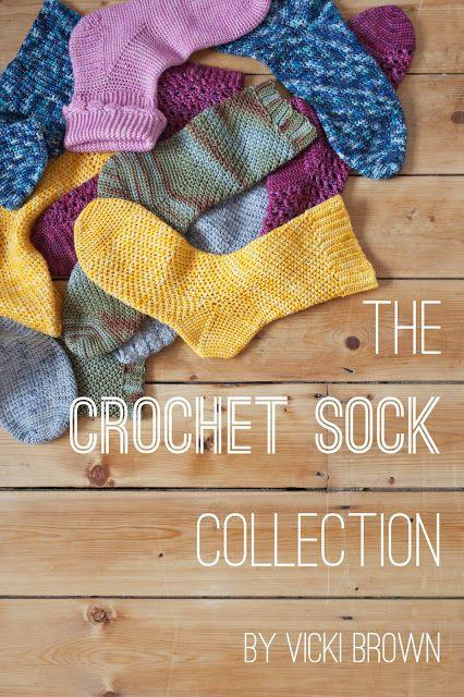 Crochet Sock Collection book