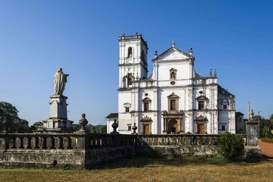 Se Cathedral, 16th century, Old Goa, Goa