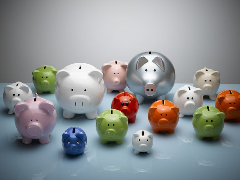 piggy banks_sector funds