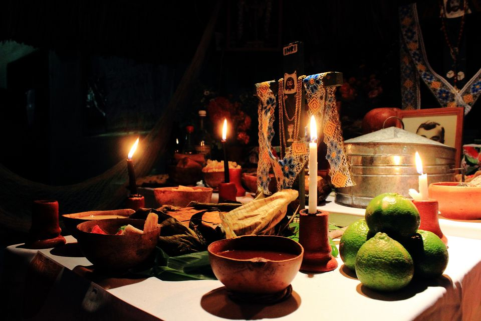 Altar for Hanal Pixan