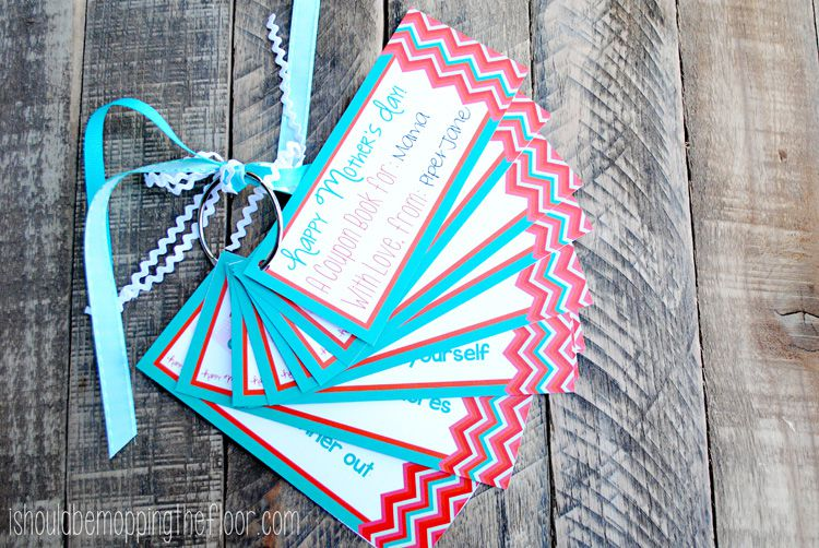 mother day coupon book