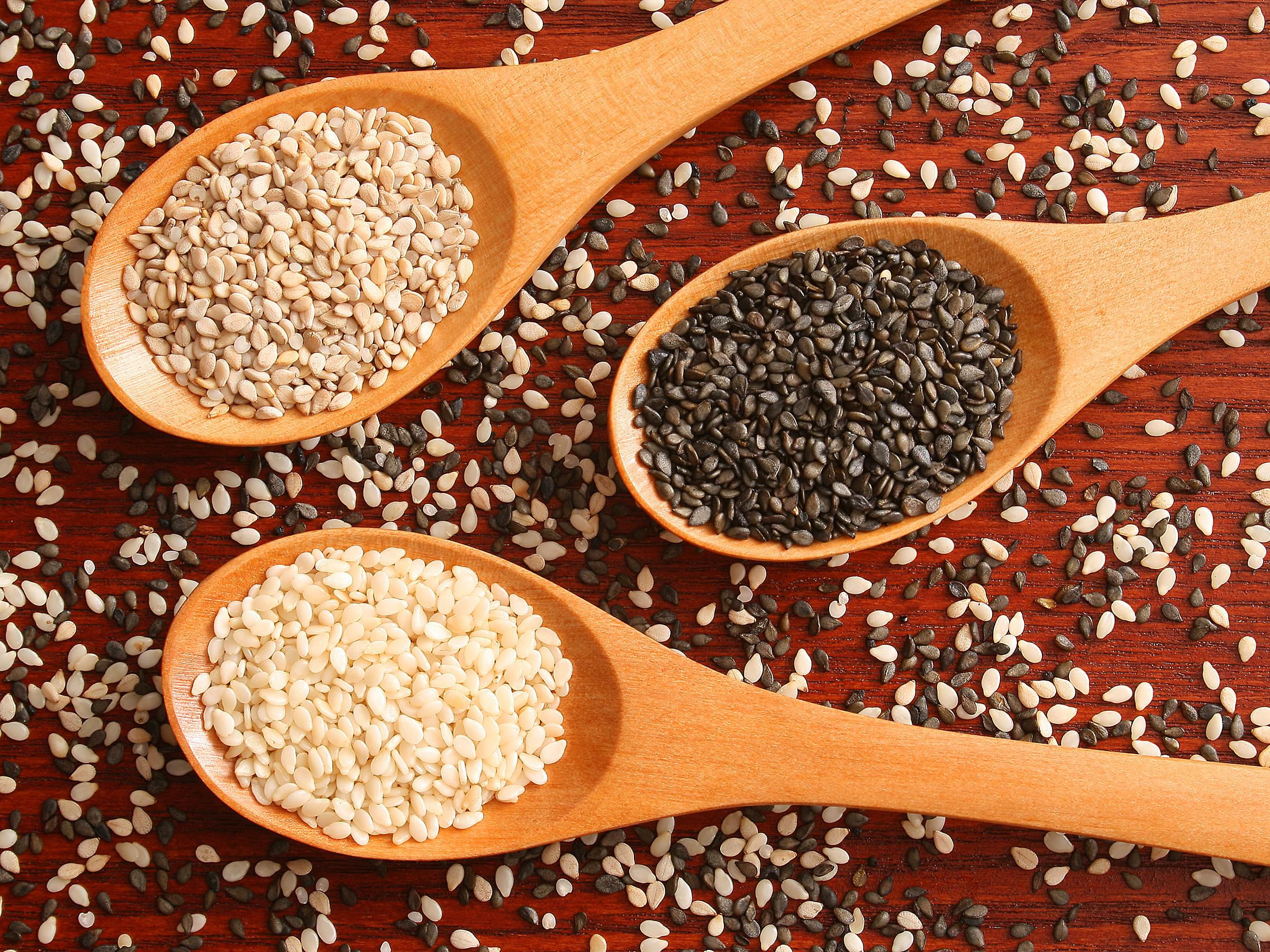 Sesame Seed Selection And Storage