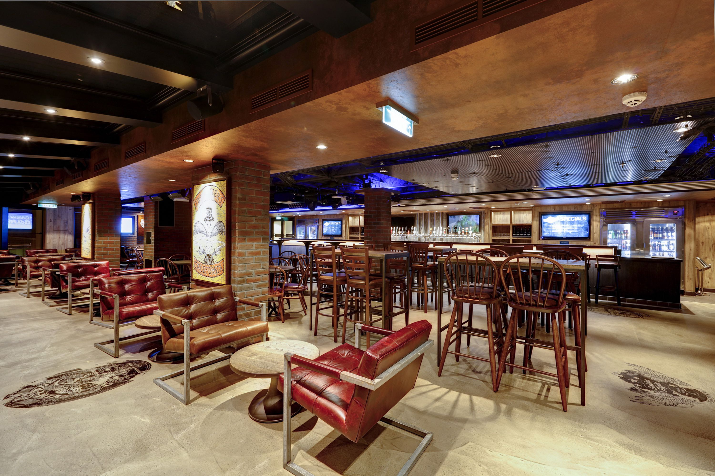 Norwegian Escape Cruise Ship Bars and Lounges
