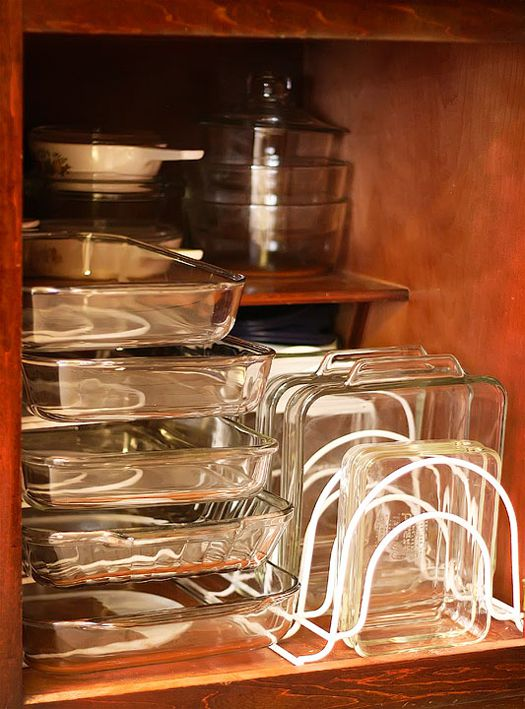 Wire Racks to Organize Baking Dishes