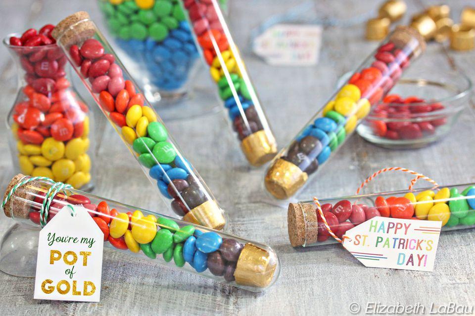Rainbow Candy Tubes