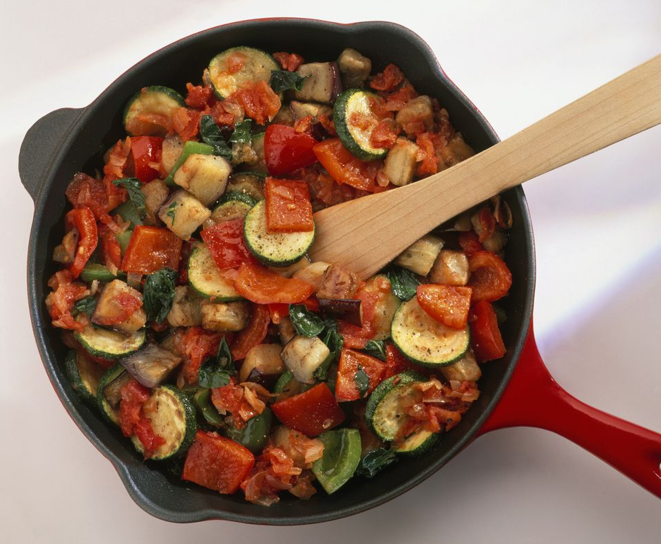 Vegan vegetable ratatouille