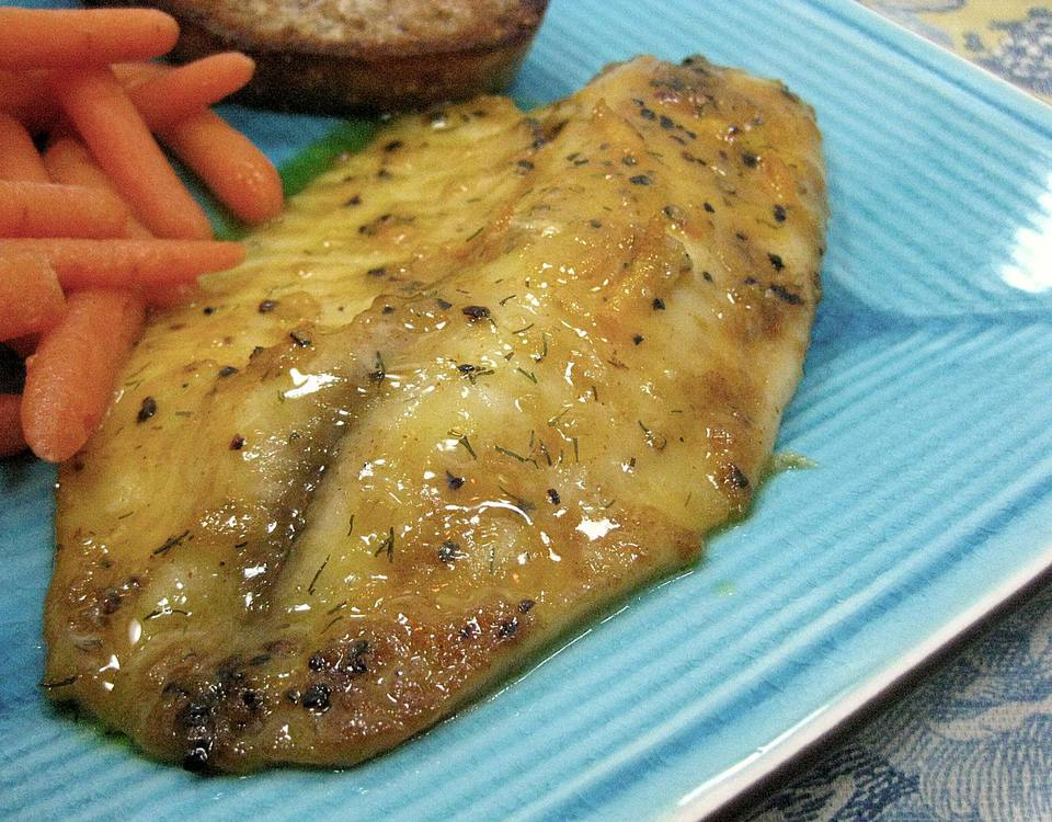 Honey Orange Fish Fillets