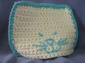 The Cat's Meow Crocheted Baby Hat