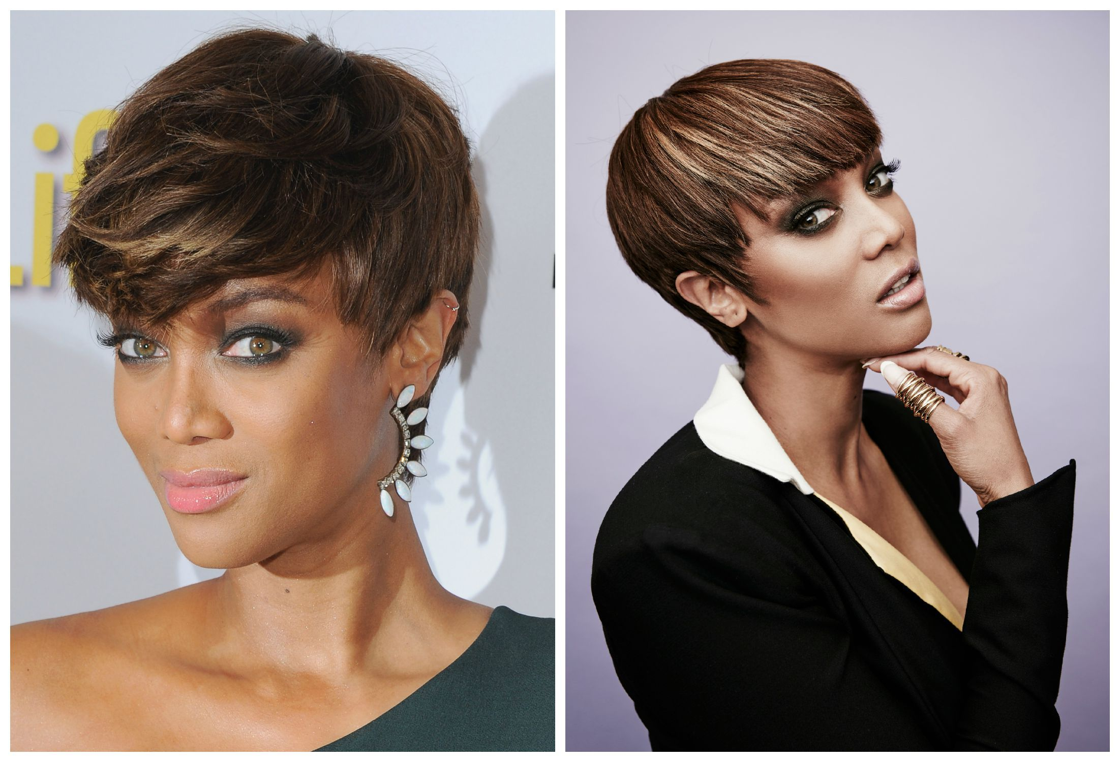 short black hair: the hottest hairstyles today