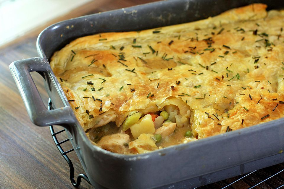 Chicken Pot Pie With Herbs