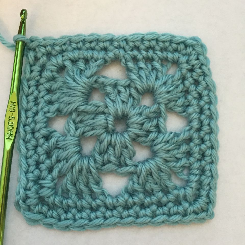 Single Crochet Edging, Two Rows