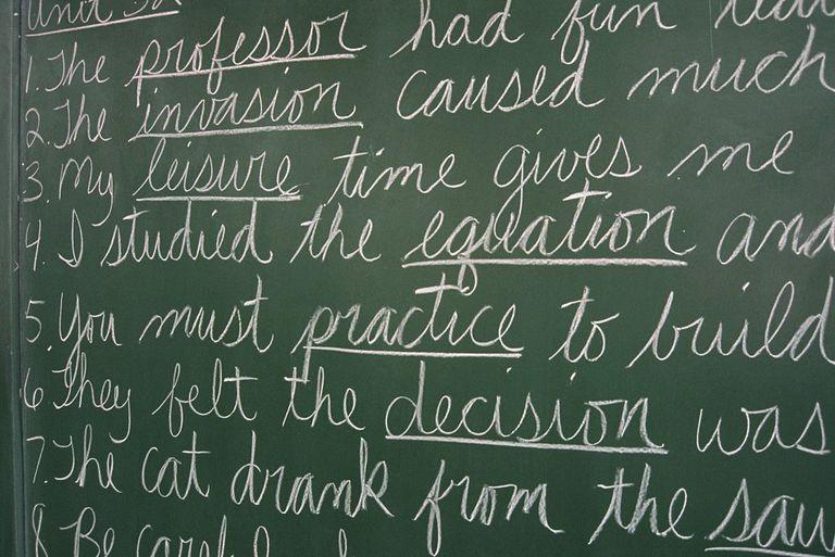 Sentence basics