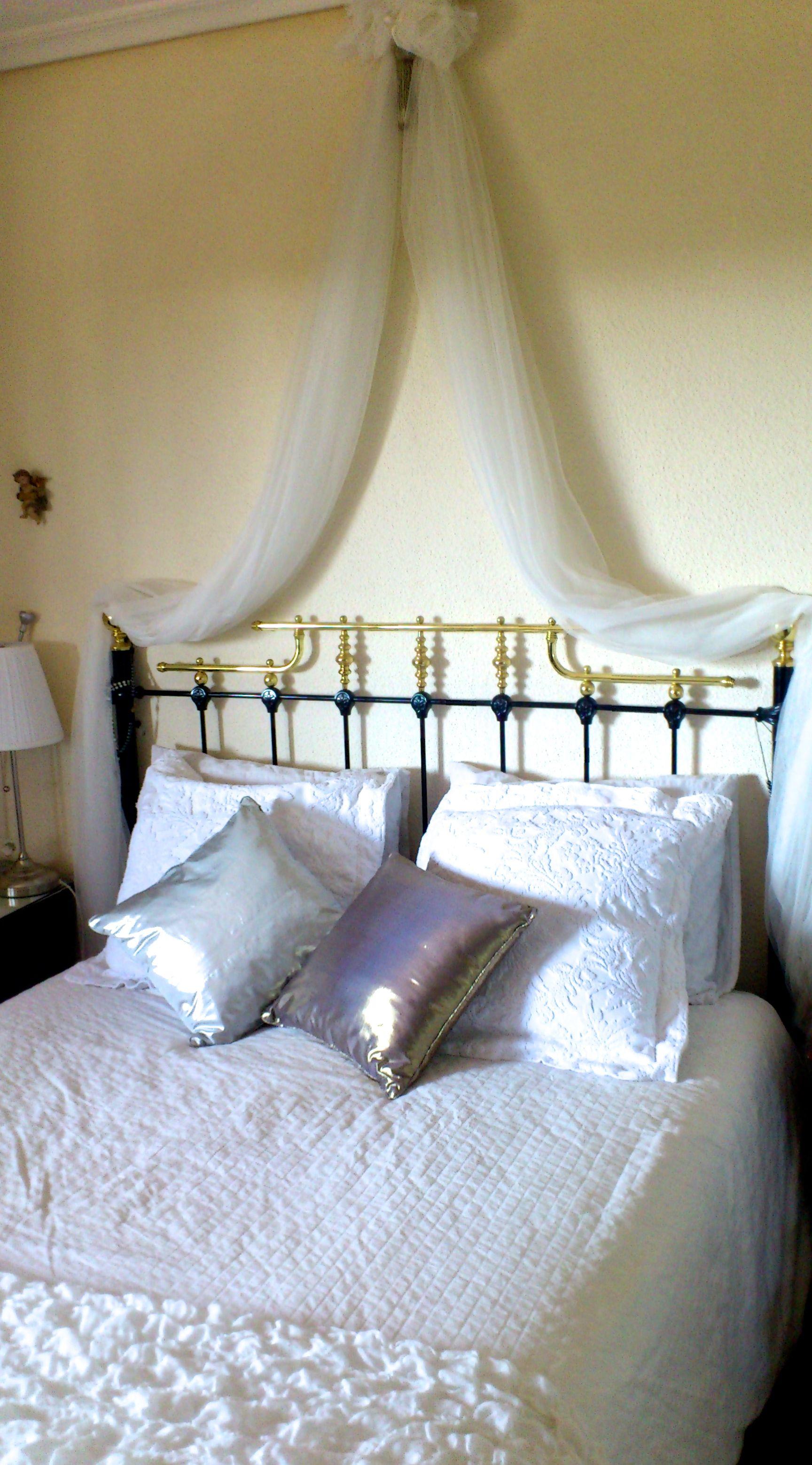Cómo hacer cabeceros de cama baratos con telas
