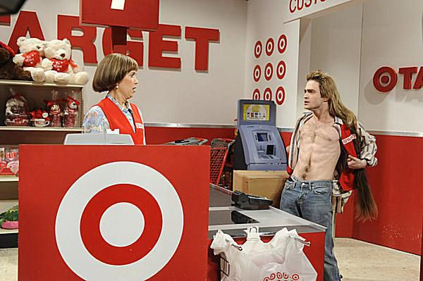 Kristen Wiig as the Target Lady