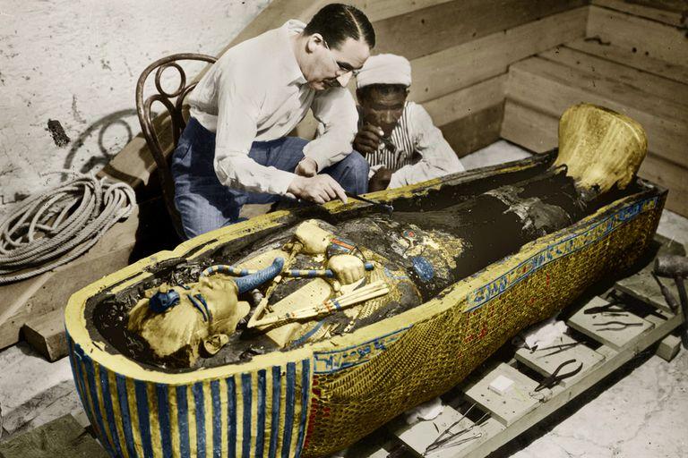 Howard Carter King Tuts tomb