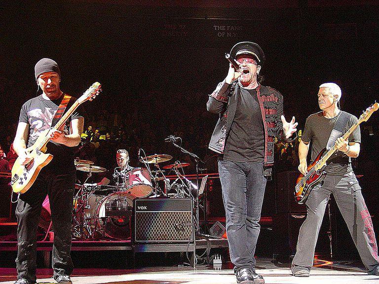 U2 in concert