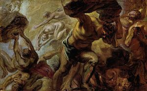 Fall of the Titans, by Peter Paul Rubens (1637/8)