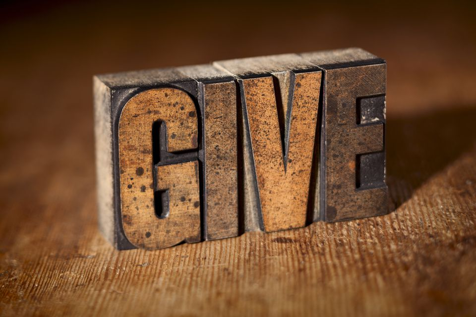 Give to Charity