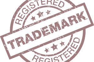 Registered trademark label notice