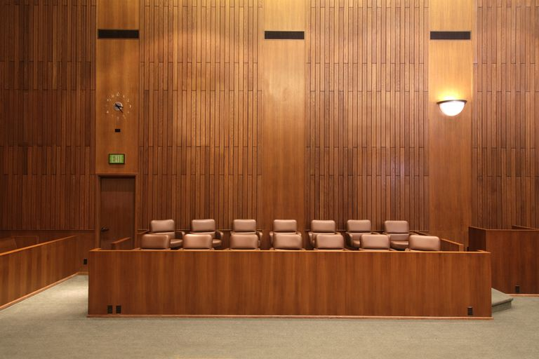 Federal Court Jury Box