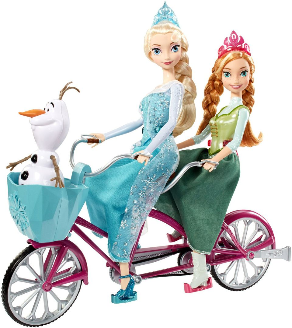 Disney Frozen Anna and Elsa Musical Bicycle