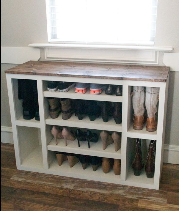 The best diy shoe storage ideas for Diy shoe storage ideas for small spaces