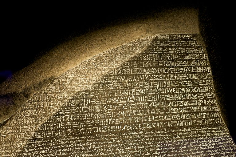 Replica of the Rosetta Stone