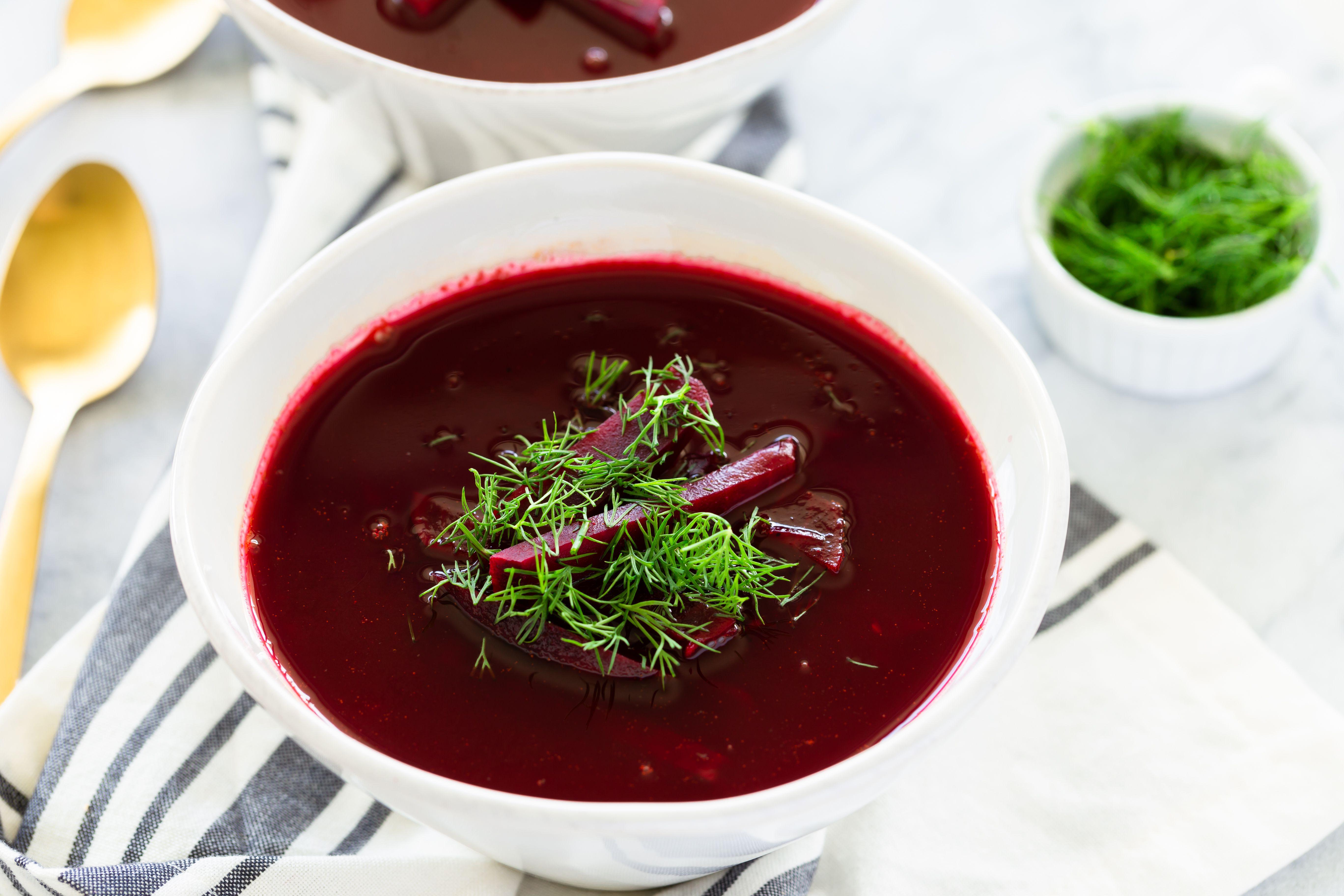Polish Beet Soup Recipe Barszcz Czysty Czerwony