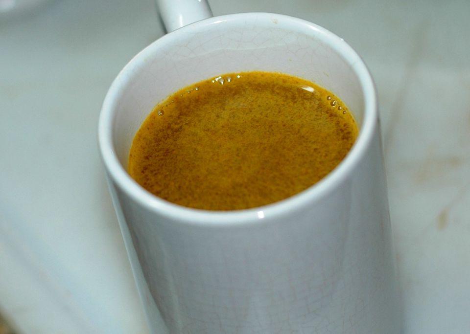 Turmeric tea photo