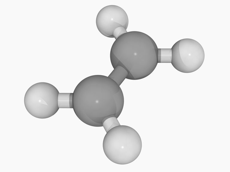 This is the chemical structure of ethylene, an example of an aliphatic hydrocarbon.