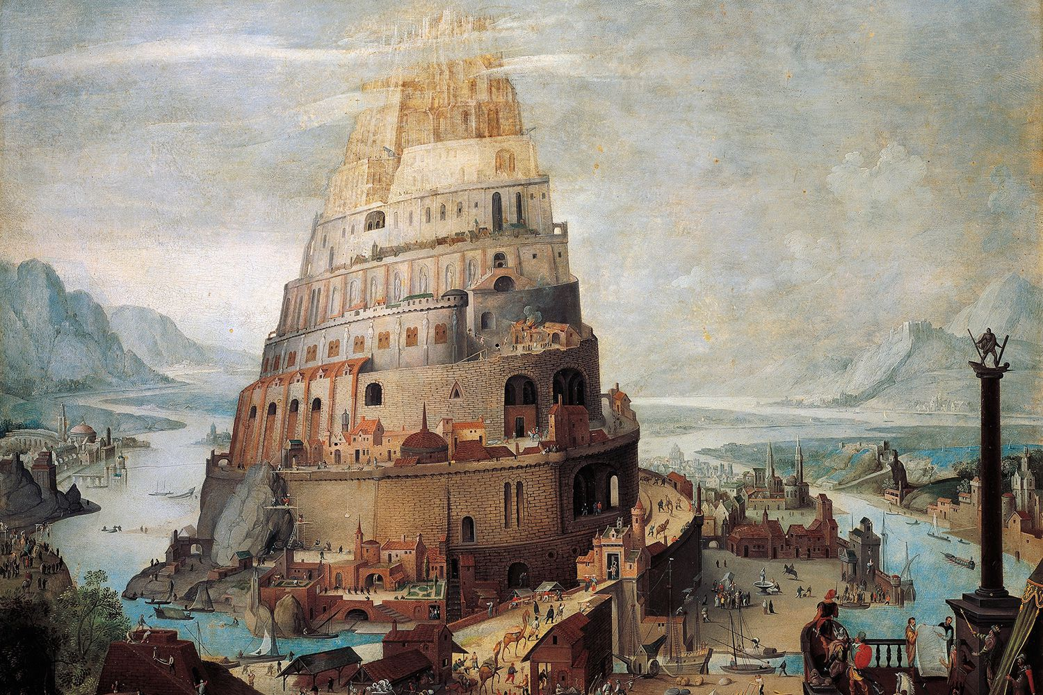 Tower Of Babel Story For Kids