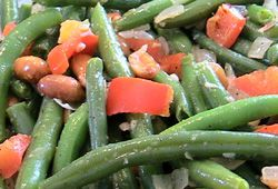 Green Beans and Peanuts
