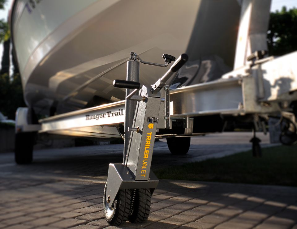 Trailer Valet can help you maneuver tight spaces.