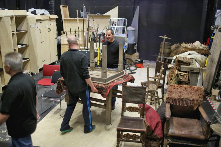 Behind The Scenes Of The Royal Shakespeare Company