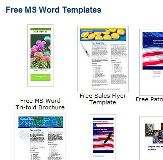 ms word template design