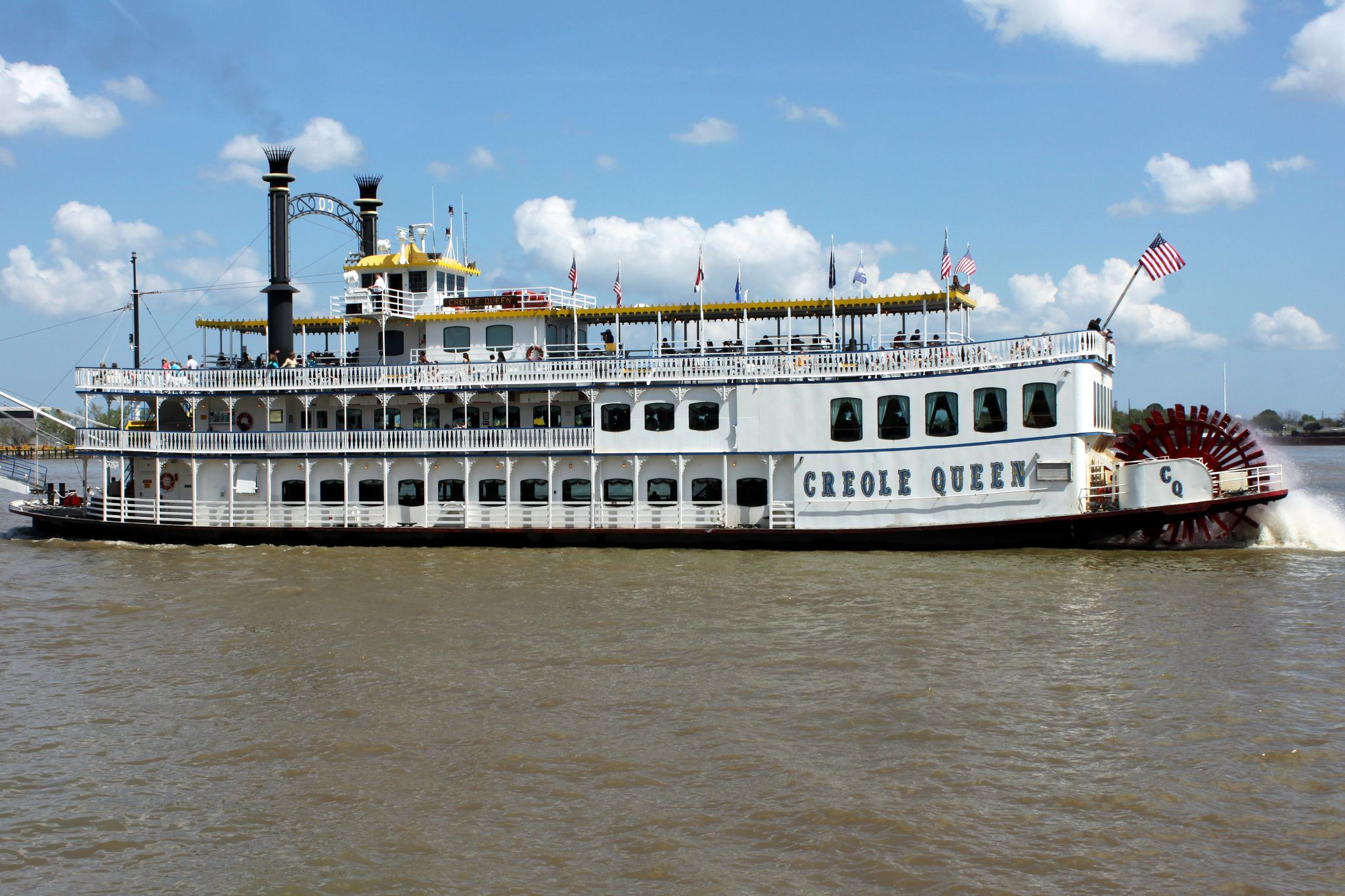 New Orleans Riverboat Rides On The Mississippi River