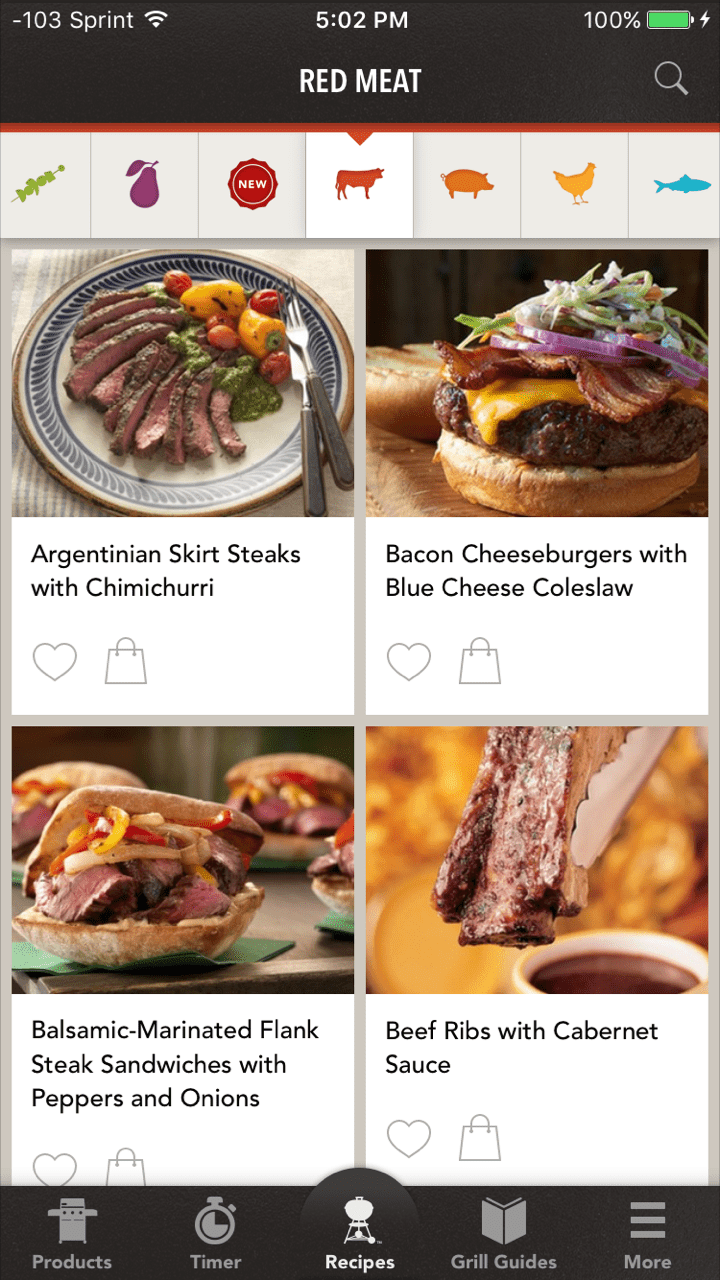 10 great recipe apps for your iphone weber grills app forumfinder Images
