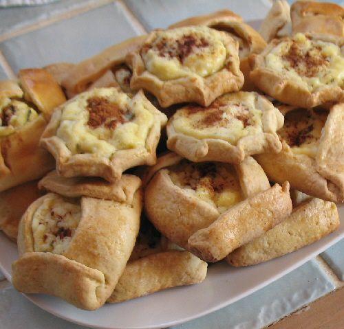 Kalitsounia - Sweet Cheese Pastries