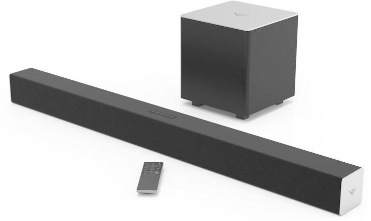 Vizio SB3821-C6 Sound Bar With Wireless Subwoofer