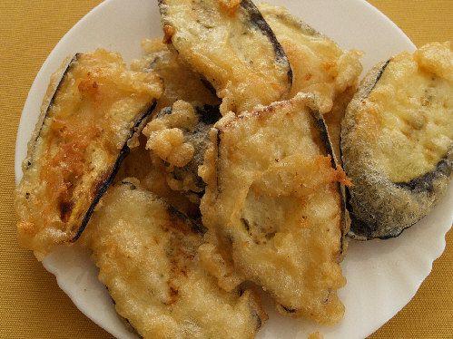Greek Batter Fried Eggplant Recipe