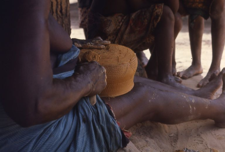 Pottery Making at Kpeyi, Liberia (West Africa)