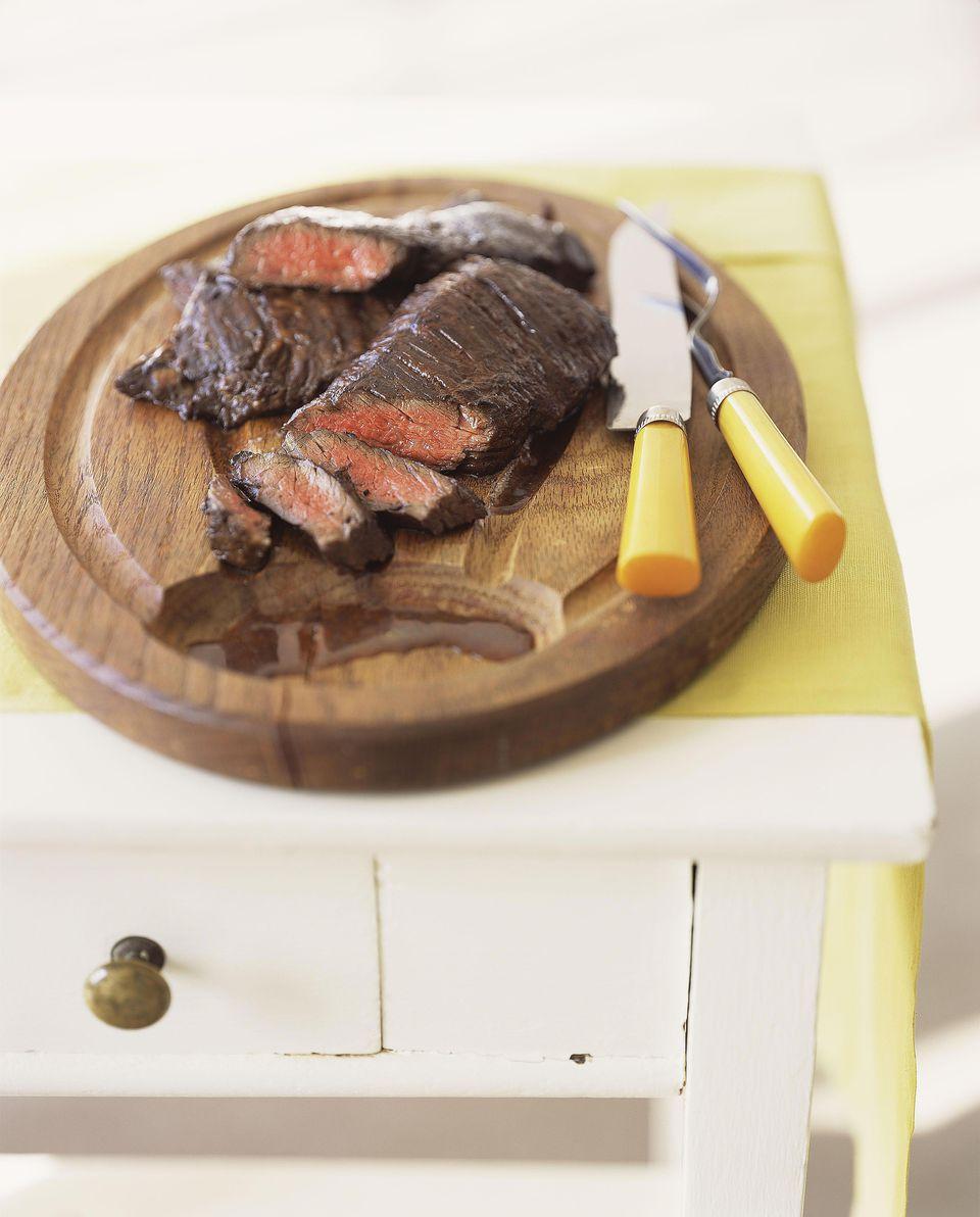 Rosemary and Red Wine Flat-Iron Steak