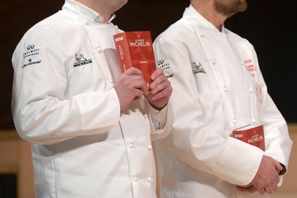 Michelin Guide 2018: Winners Announcement At La Philharmonie In Paris