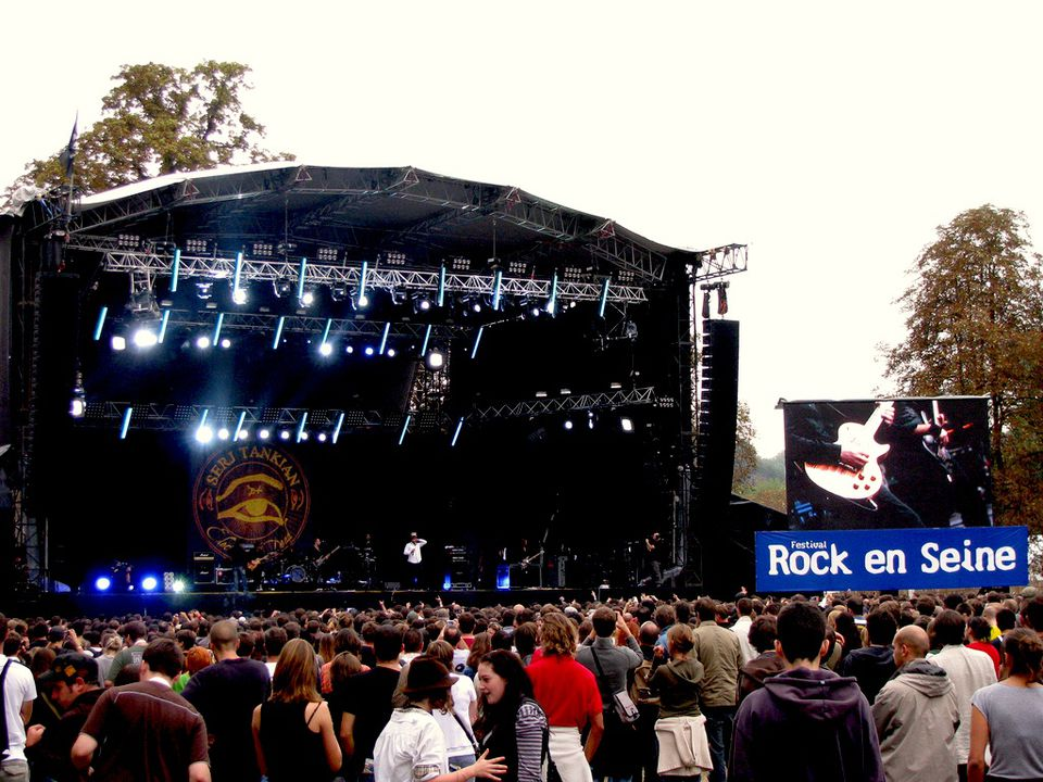 Rock en Seine is one of Paris' most anticipated annual music festivals.