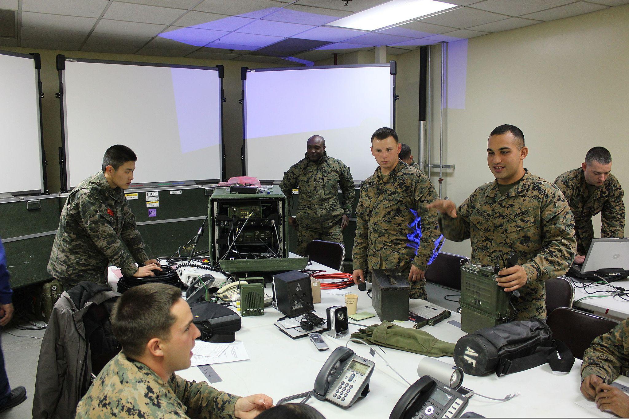 Marine Jobs -- MOS 0203 Ground Intelligence Officer