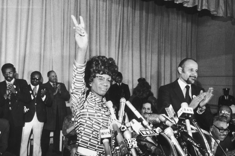 Shirley Chisholm Announcing Her Run for the Presidency 1972