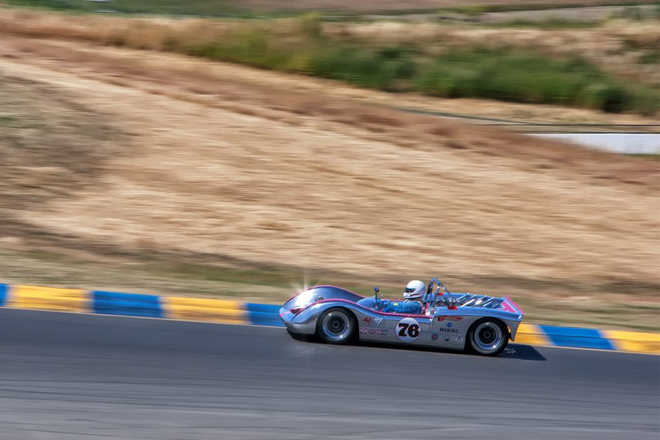 Classic Car Racing at Sonoma Raceway