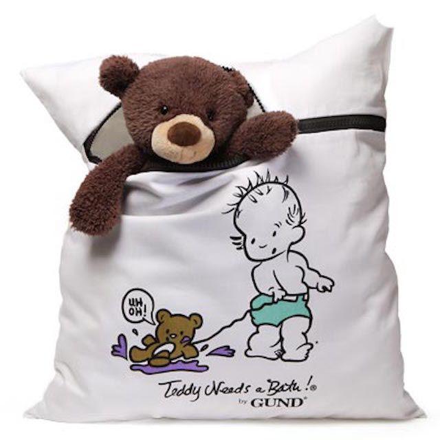 Teddy Needs a Bath by Gund