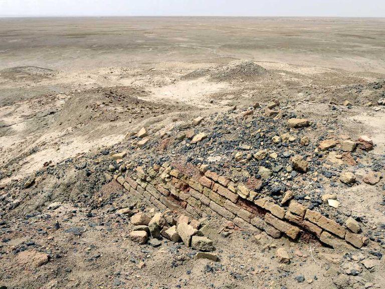 The Ziggurat of Enki at Eridu, Built by Sumerian King Ur-Nammu [2123-2106 BC]